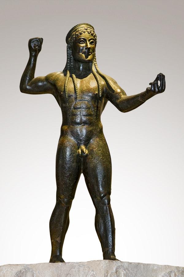 Statua in bronzo di Zeus di Ugento