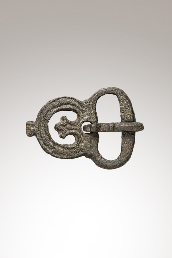 Belt buckle in copper alloy