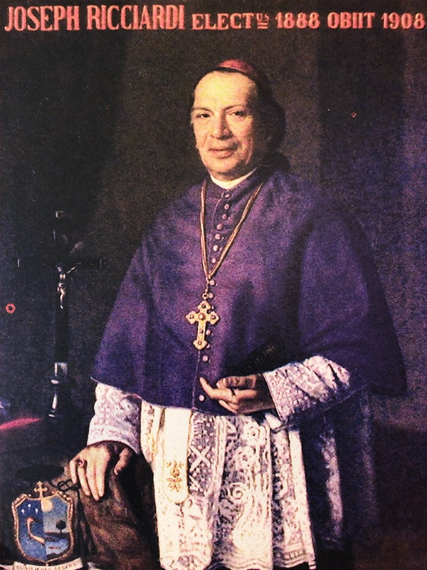 Mgr Giuseppe Ricciardi