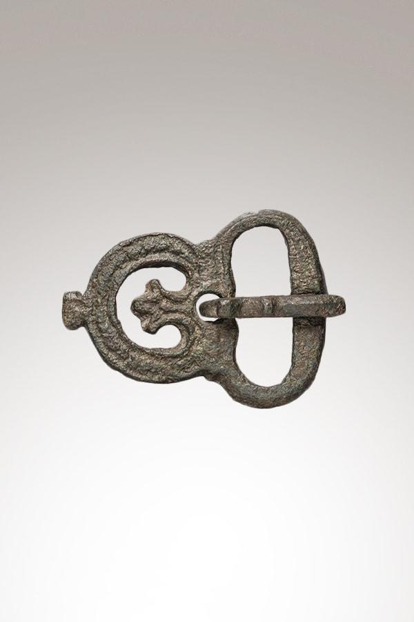 Plaque-boucle de ceinture en alliage de cuivre