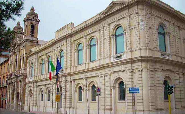 Exterieurs du MArTA Musee Archeologique National Tarente