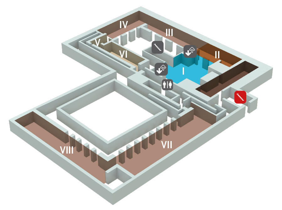 MArTA: plan du deuxième étage
