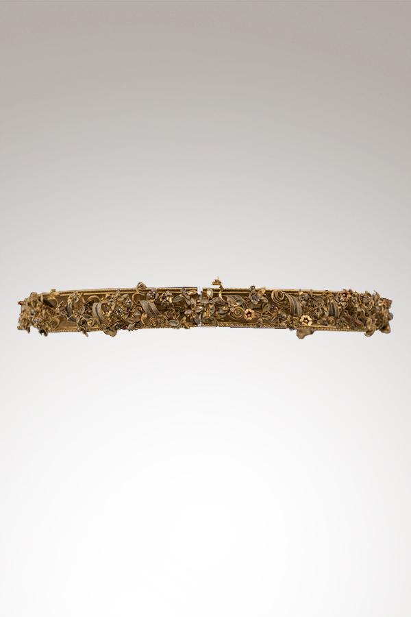 Diadem im Grab des Goldes von Canosa