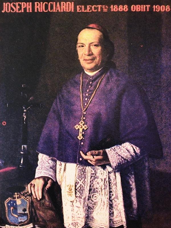 Monseñor Giuseppe Ricciardi