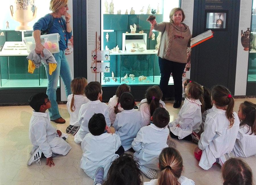 Servicios educativos: Primeros pasitos en el MArTA