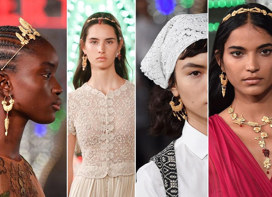 La collezione degli Ori del MArTA fonte di ispirazione per Dior