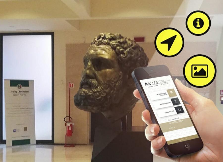 Il MArTA primo museo LI-FI
