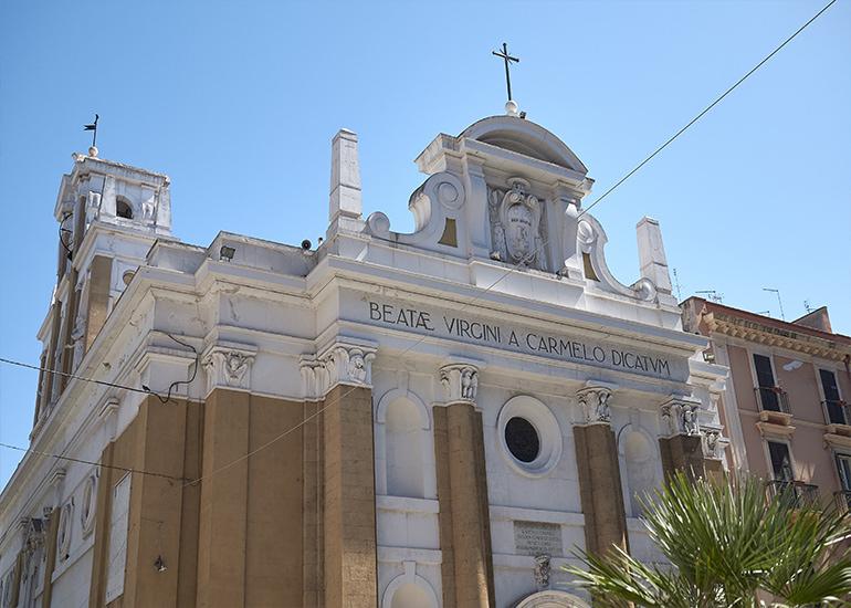 Cosa vedere a Taranto: Chiesa del Carmine