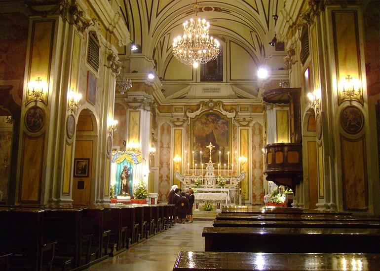 Cosa vedere a Taranto: Chiesa di san Pasquale di Baylon